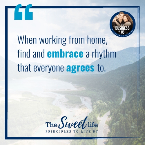Quote Image for 'Working from Home' a The Sweet Life article by Mike Turner